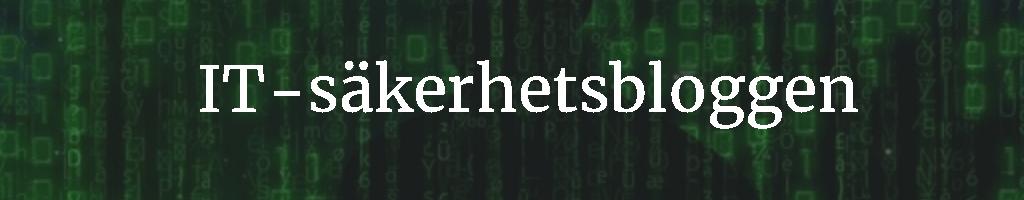 IT säkerhetsbloggen